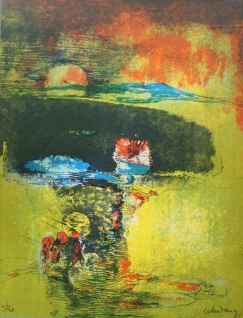 Литография Lebadang - Paysage A La Jonque