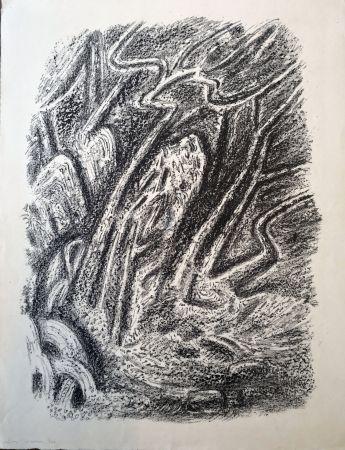 Литография Masson - Paysage au Cascatelles