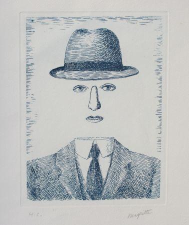 Офорт Magritte - Paysage de Baucis