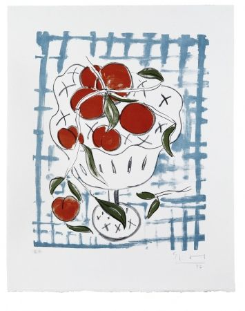 Литография Szczesny - Peach Still Life