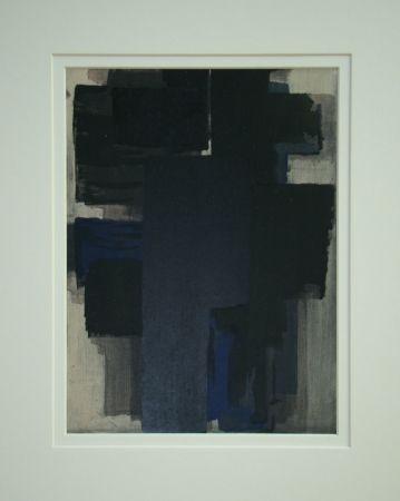 Трафарет Soulages - Peinture, 1955