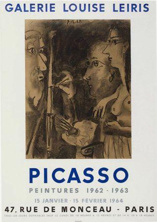 Литография Picasso - '' Peintures 1962 - 1963 ''