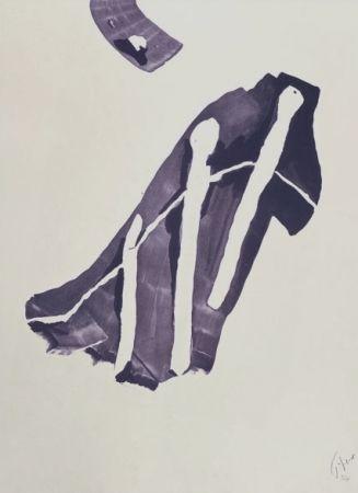Литография Tal Coat - PENCHE