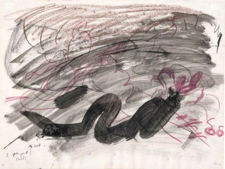 Нет Никаких Технических Kirkeby - Per Kirkeby (1938-2018).Sans titre, 1980. Encre, lavis d'encre et crayon.