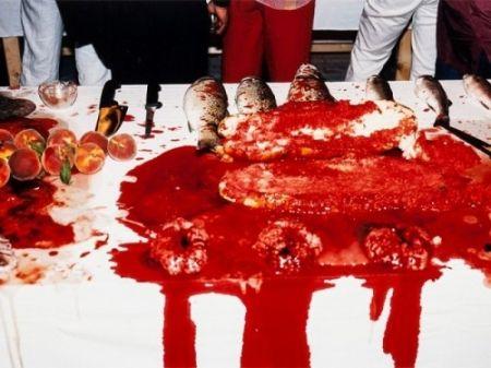 Фотографии Nitsch - Performance 2003
