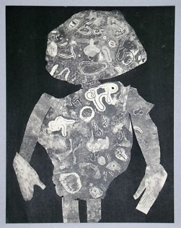 Трафарет Dubuffet - Personnage, 1955