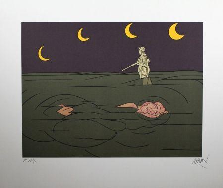 Литография Adami - Petit clair de lune
