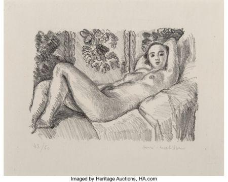 Литография Matisse - Petite Aurore