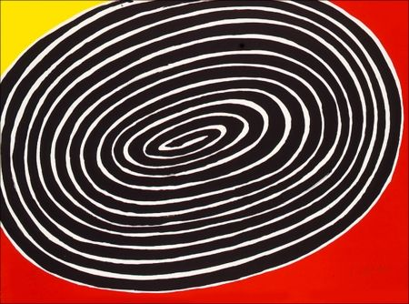 Литография Calder - Petite Spirale