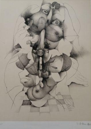 Литография Daboval - Phantasmes de Berthe 3