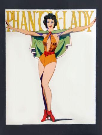 Сериграфия Ramos - Phantom Lady (Black)