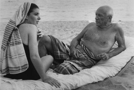 Фотографии Clergue - Picasso And Cathy
