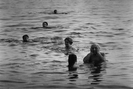 Фотографии Clergue - Picasso Au Bain Avec Jacqueline...