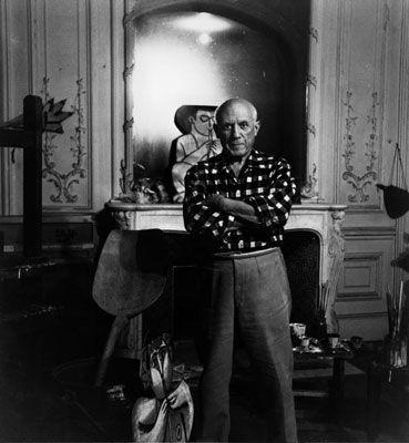 Фотографии Clergue - Picasso Au Miroir