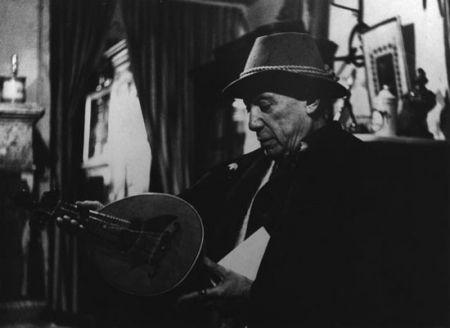Фотографии Clergue - Picasso Avec La Mandoline