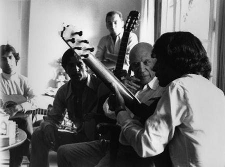 Фотографии Clergue - Picasso Avec Les Gitans De Manitas De Plata