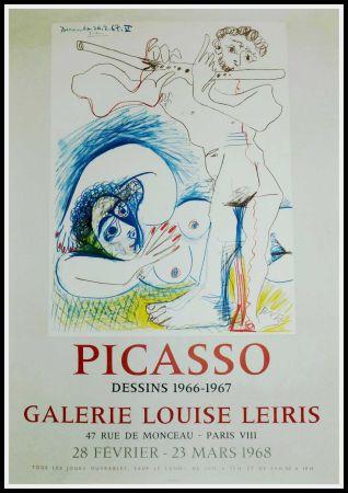 Афиша Picasso - PICASSO, DESSINS 1966-1967 GALERIE LEIRIS 1968