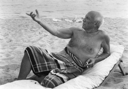 Фотографии Clergue - Picasso en la playa II