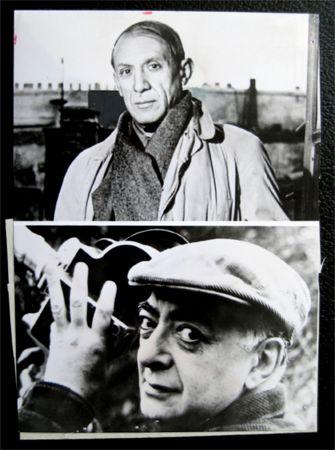 Фотографии Picasso - Picasso facing / Brassai holding his camera