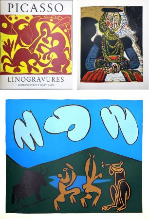 Иллюстрированная Книга Picasso - PICASSO LINOGRAVURES. (Picasso Linocuts). 1962.