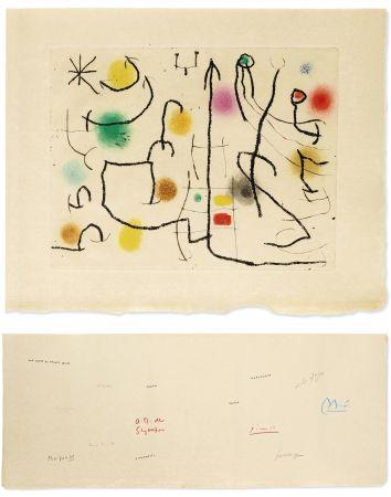 Иллюстрированная Книга Miró - [Picasso, Miro, Giacometti...] -  ILIAZD (Ilya Zdanévitch, dit) HOMMAGE À ROGER LACOURIÈRE.