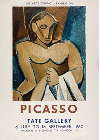 Литография Picasso - Picasso Tate Gallery 1960