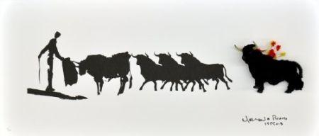 Многоэкземплярное Произведение Leirner - Picasso Toros-2