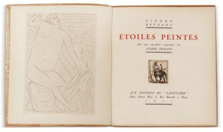 Иллюстрированная Книга Derain - Pierre Reverdy :  ÉTOILES PEINTES. Avec une eau-forte originale de André Derain (1921)