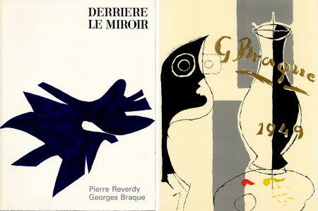 Иллюстрированная Книга Braque - PIERRE REVERDY, GEORGES BRAQUE. DERRIÈRE LE MIROIR n° 135-136. Déc.1962-Janv.1963.