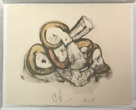 Литография Oldenburg - Pile of Erasers
