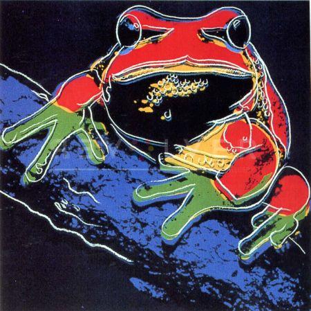 Сериграфия Warhol - Pine Barrens Tree Frog (Fs Ii.294)