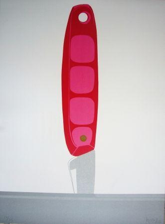 Литография Hoyos - Pink Knife