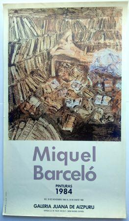 Афиша Barcelo - Pinturas 1984