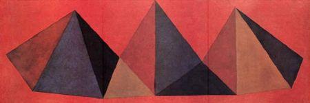 Литография Lewitt - Piramidi IV