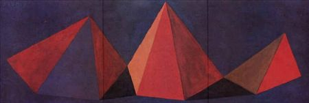 Литография Lewitt - Piramidi VI