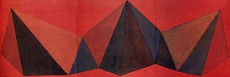 Литография Lewitt - Piramidi VIII