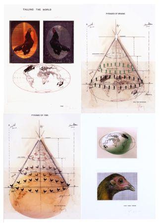 Многоэкземплярное Произведение Vanmechelen - Piramids
