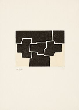 Офорт И Аквитанта Chillida - Pittsburgh Ii