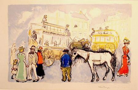 Литография Van Dongen - Place Pigalle SOLD