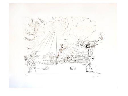 Литография Dali - Plage de Cadaques