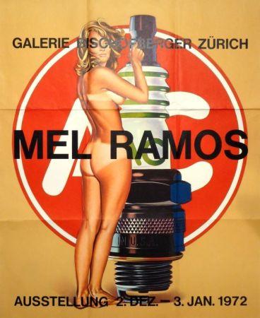 Гашение Ramos - Plakat Galerie Bischofberger