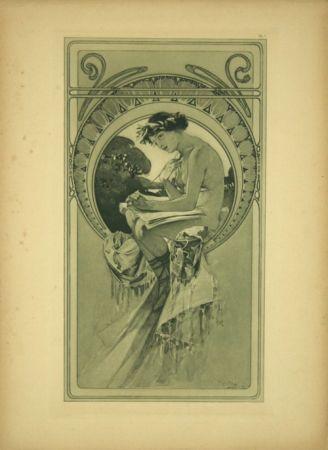 Литография Mucha - Planche  7   Documents décoratifs