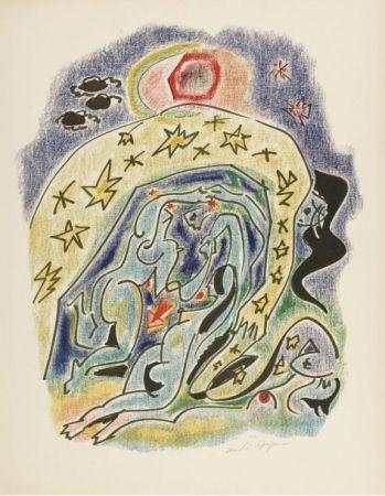 Литография Masson - Planche d'illustration des 23 sonnets de Louise Labbé