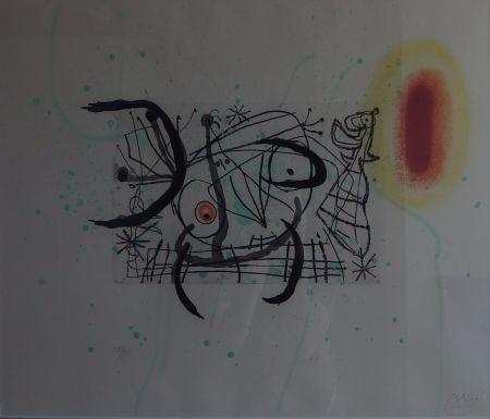 Гравюра Miró - Plate 11