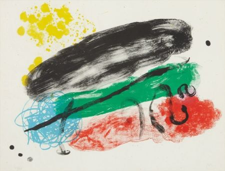 Литография Miró - Plate 16, from Album 19