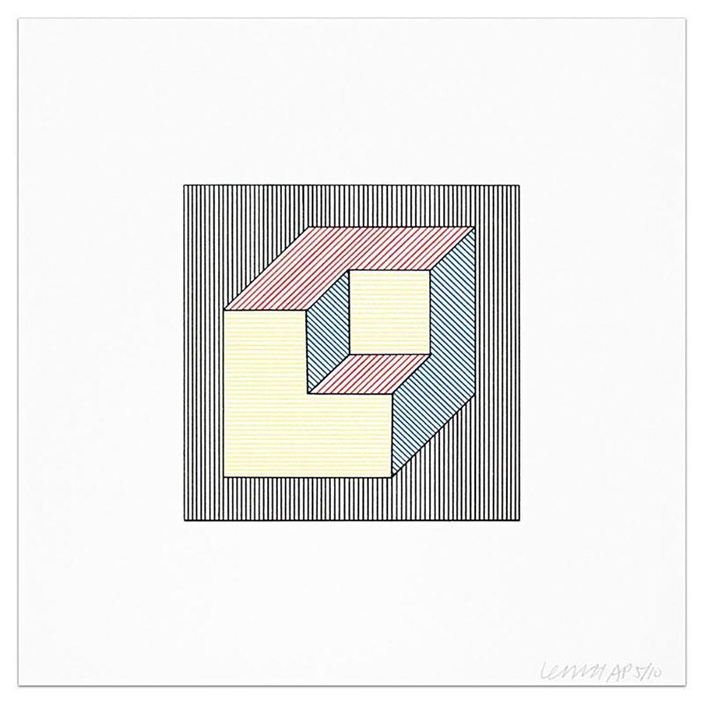 Многоэкземплярное Произведение Lewitt - Plate #47