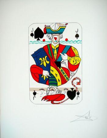 Литография Dali - Playing card Valet de Pique (29)