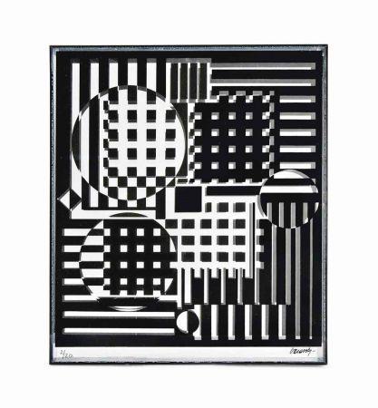 Многоэкземплярное Произведение Vasarely - Pleionne