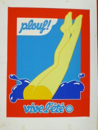 Сериграфия Hauss - Plouf !
