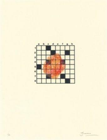 Литография Brossa - Poema visual 14